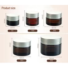 Joint de pot cosmétique avec couvercle en plastique (NBG17)