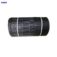 Best price 14 gauge black wire backed pp woven silt fence