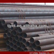 tubulação de aço carbono sem emenda 1020 1045 Q235B SS400 ASTM A36