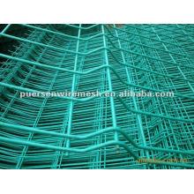 PVC beschichtete Draht geschweißte Mesh Bilateraler Zaun