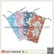 Мягкий чехол для очков из микрофибры с полноцветной печатью (DH-MC0401)