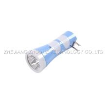 4pcs led light plastic torch rechargeable flashlight