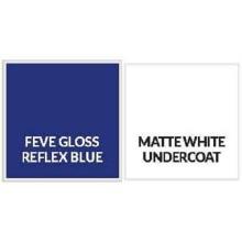 Feve Gloss Reflex Blue Aluminiumblech