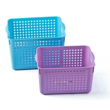 Plastic Rectangle Fashion Storage Basket