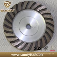 Diamante profissional de alta qualidade ensolarado moagem Turbo Cup Wheel