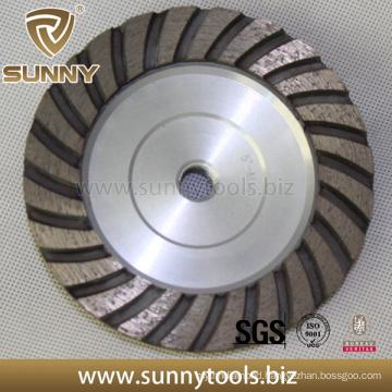 Professional Sunny High Quality Diamond Grinding Turbo Cup Wheel