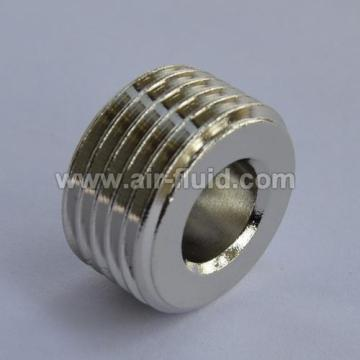 BSP Taper Male Plug (Allen) Nickel Plated Brass Fittings