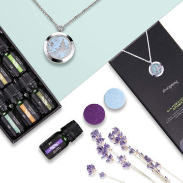 Multiple Effects Essential Oils With Necklace
