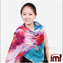 New arrival beautiful lotus scarf women scarves with flower design