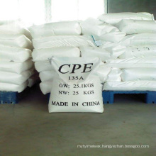 Chlorinated Polyethylene modifier cpe for plastic additives