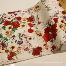 2016 Fashion Printing Cotton Spandex Fabric