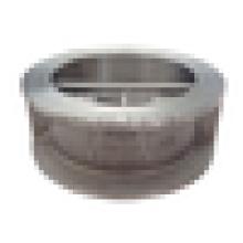 size DN50-DN350 PN25/PN40/CLASS 250 Double Disc. Wafer Check Valve