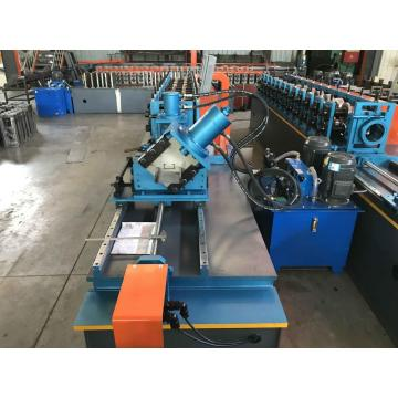 CE Galvanized CZ Purlin Roll Forming Machine