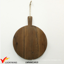 Многофункциональный круглый деревянный измельчитель / вырезывание / сырная доска