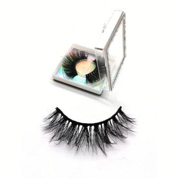 608 Hitomi eyelash vendor customized boxes Soft Mink Eyelashes paper eyelash packaging 3d real mink eyelash