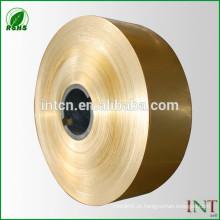 faixa de liga de cobre H68 C26800 CuZn33