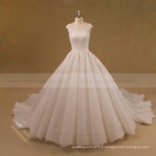 2017 Nouvelle robe de mariée en marbrure en dentelle à la mariée