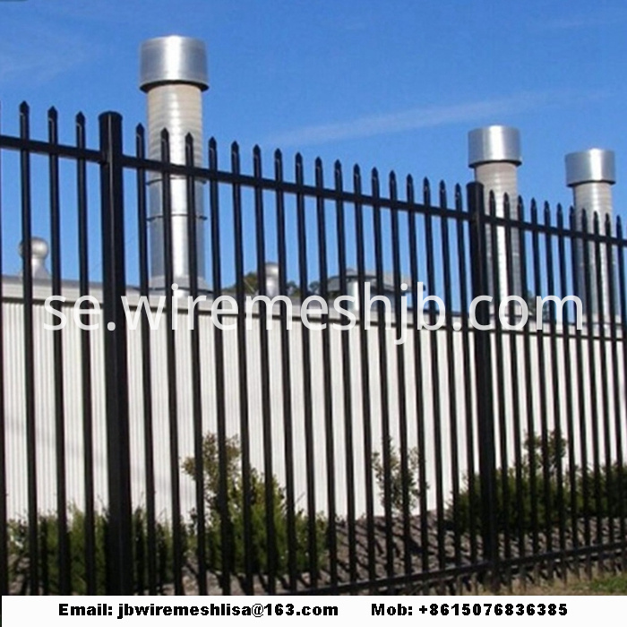 Zinc Steel Wrought Iron Fence