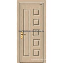 Luxus-PVC-Tür/MDF Holztür mit PVC-Blatt (JKD-1815) für die innere Tür genutzt