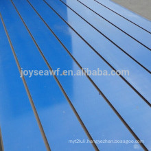slotted mdf board /aluminum slatwall panel