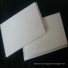 Tablero de fibra mineral Sandy Blasting (diseño 3D y espesor)