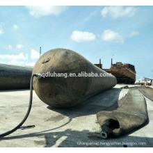 High Quality Luhang Ship Lifting Pneumatic Rubber Airbag ship launching airbag