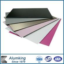 1060 Feuille / plaque en aluminium prépainée pour bouchons