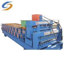 Machine de formage de rouleaux d'acier de couleur de panneau de toit ondulé