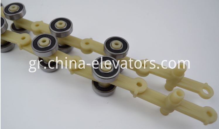 Schindler Escalator Rotary Chain 17 pair rollers Single Fork