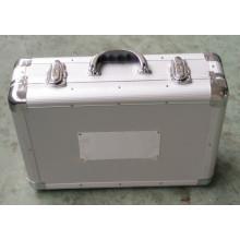 Caja de herramientas de aluminio con logotipo del cliente