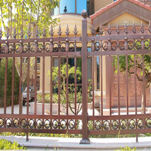 wrought decorative aluminum fence panel protective fence arrow