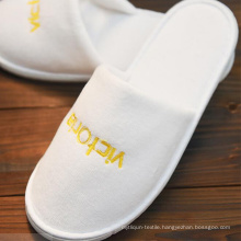 Disposable Slippers/One-Time/Hotel/Family/Travel/White/No Word/Sulbactam Soft/Flax White Hotel Babouche Travel Guesthouse