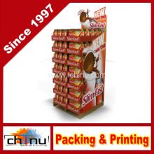 Cardboard Corrugated Pallet Rack Display (6125)