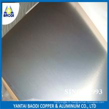 Feuille d'aluminium bon marché exportée vers l'Amérique du Sud