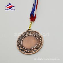 Пользовательские Винтажном стиле медали пустой медали медные медали