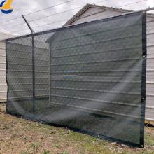 Bâches d'ombrage de clôture en maille en plastique