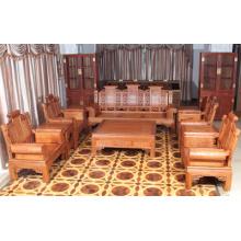High-End 10sets Afican Padauk Sofa mit Ming-Dynastie-Stil