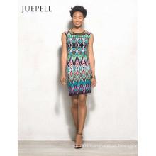 Africa Floral Print Women Casual Dress