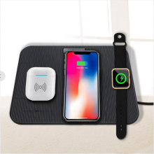 QI Wireless Charger 5 in 1 Şarj Standı Tutucu Dock