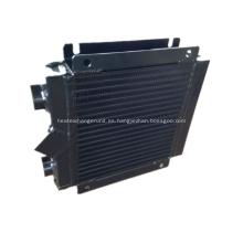 Intercambiador de calor de aluminio soldado de placa de barra para energía eólica