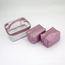 Wholesale 3pcs Set Women Travel Waterproof Makeup Cosmetic bag