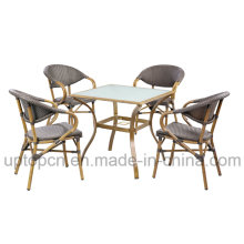 Stackable Outdoor Rattan Chair with Aluminum Frame for Garden (SP-OC524)
