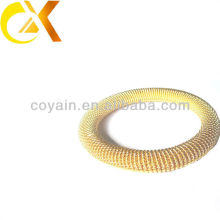 Wholesale new products stainless steel jewelry gold plating bangle for women