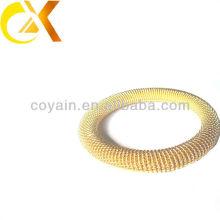 Atacado de novos produtos de aço inoxidável jóias bracelete banhado a ouro para as mulheres