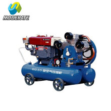 Diesel Driving Mining Piston Air Compressor
