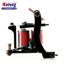 La machine de tatouage de bobine de Solong pour l'art de corps MZZ270 10 bobine enroule la bobine de machine de tatouage en laiton