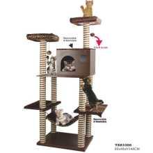 Muebles de lujo gato rascador para los gatos, gato del árbol (ys83306)