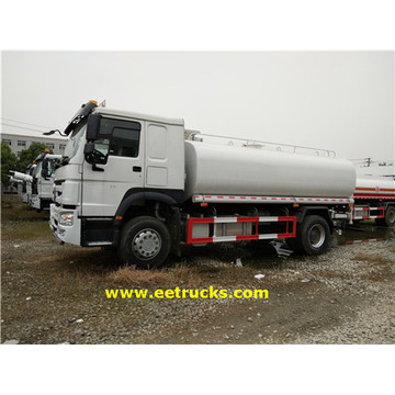 HOWO 9000 Liters Water Tanker Trucks