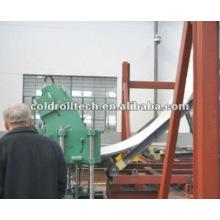 Rolo ondulado de aço do perfil do silo que forma a linha