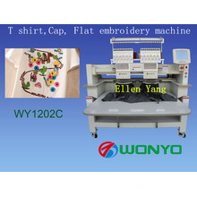 Flocking Embroidery Machine 902 Computerized Flat Embroidery Machine